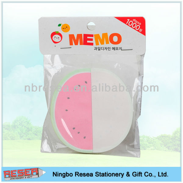 shaped fruit Memo Pad