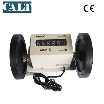 High precision AC 220V cm unit measuring wheel meter counter with power off memory function