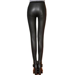 0d062d23854 Cotton Leather Leggings