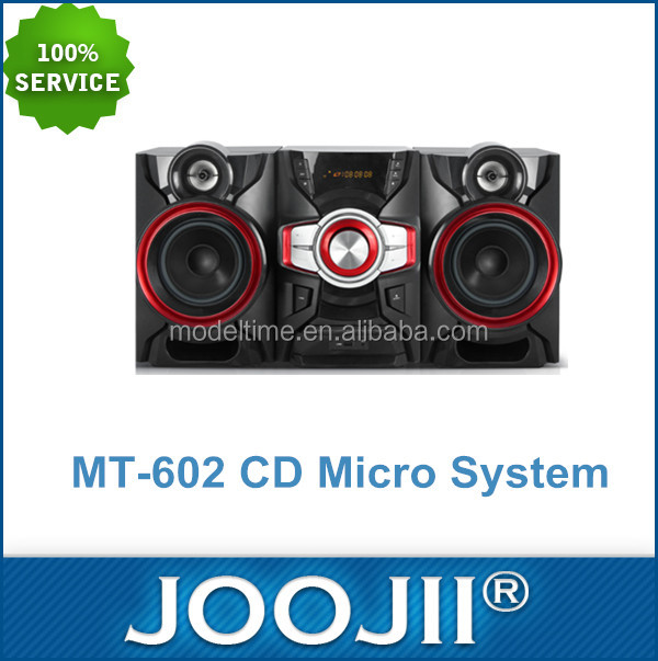 2015 new products hifi CD speaker system for home theater