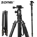 New Zomei Z688 Aluminum Professional Tripod Monopod Ball Head For DSLR camera Portable SLR Camera stand