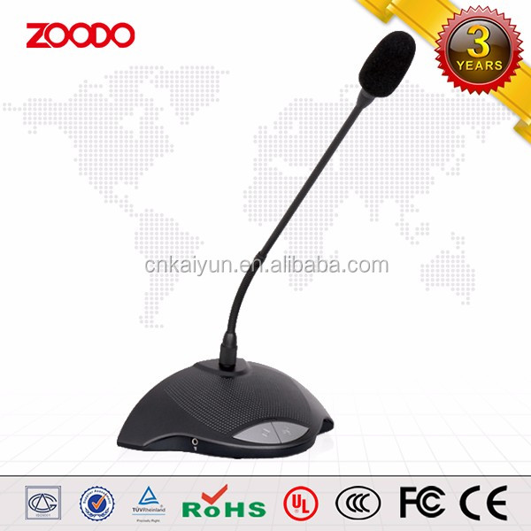 KF-983C Microphone System Chairman Unit Conference Room Gooseneck microphone
