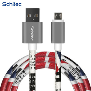 New protector leather 12 pin phone charger cable,micro usb 2.0 cable bulk
