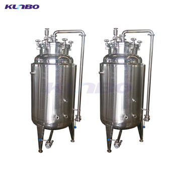 KUNBO Stainless Steel 50 - 500 Gallon 2BBL-20BBL Beer Bright Brite Tank