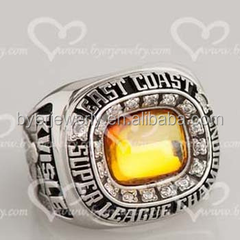 product ring football fantasy championship rings souvenir solid sport