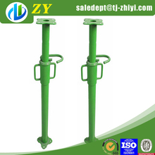 Long service life adjustable prop jack and shoring prop