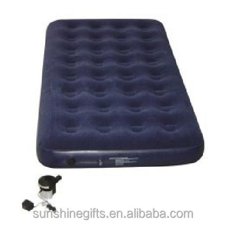 Promotional Portable modular modern Camping Inflatable Lazy air foldable mattress