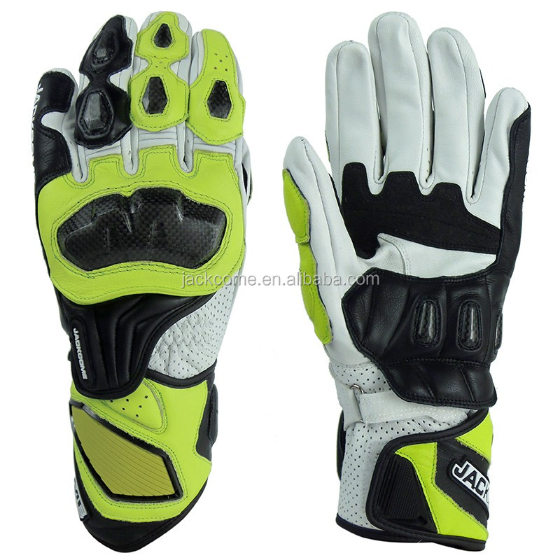 Cow Hide Motorbike Racing Gloves /Motorcycle Motorbike Gloves Perforated/Professional Race leather gloves
