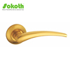 round lever handle with plate,high quality mortice handles with knob