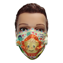 Disposable face mask nonwoven cartoon printed fashionable medical face mask