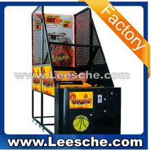 LSJQ-384 hot indoor arcade coin operated hoop fever basketball game machine electronic basketball game