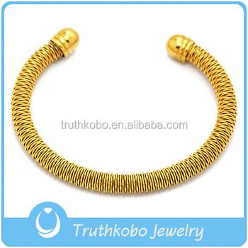 Gold Cuff Bracelet Mens Plated Bracelets 18k For Men