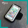 Plastic pack waterproof phone bag running waterproof armband for mobile phones