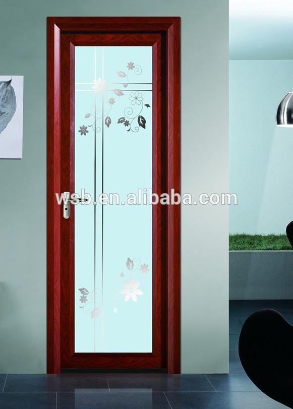Buen precio puerta de vidrio templado puertas - Precio del vidrio ...