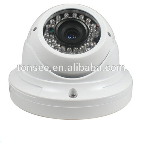CCTV Dome Camera with Red LED Flashing Light