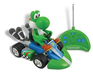 GOLDIE Educational Products - Nintendo Super Mario Yoshi Mini Radio Control Kart Remote Contol Car - NINTENDO SUPER MARIO YOSHI MINI RADIO CONTROL KART REMOTE CONTOL CAR
