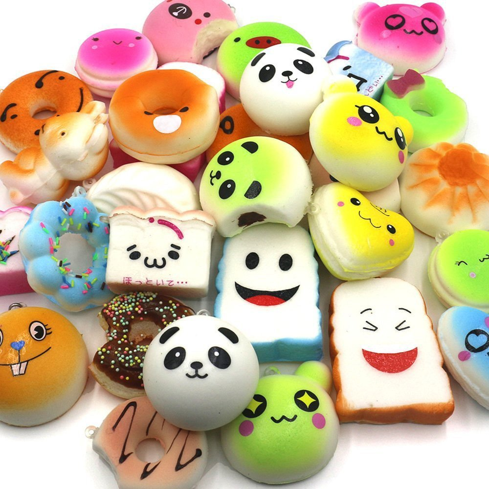 super slow rising wholesale squishy buns toys with EN71 certification