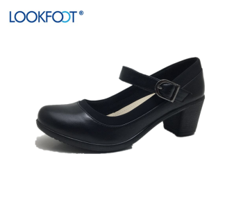 Lookfoot new fashion summer ladies heel shoes strap shoes comfortable wholeshoes women casual shoes