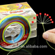 braided wire 300m multi color fishing line braided