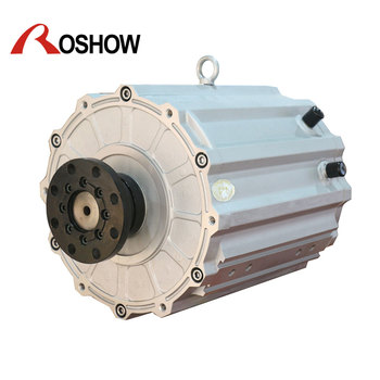 3 Phase 125kw New Energy Electric Car Permanent Magnet Synchronous Motor