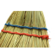 Natural long wooden handle outdoor corn grass brooms