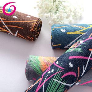 china direct factory denim polyester cotton bangladesh denim canvas fabric