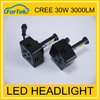 Best selling car accessories!Car LED Headlight 3600LM h4 led head lamps 30w