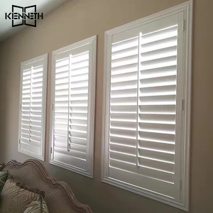 Plantation Shutters Slats From China Aluminium Roller Shutter Louvers Window