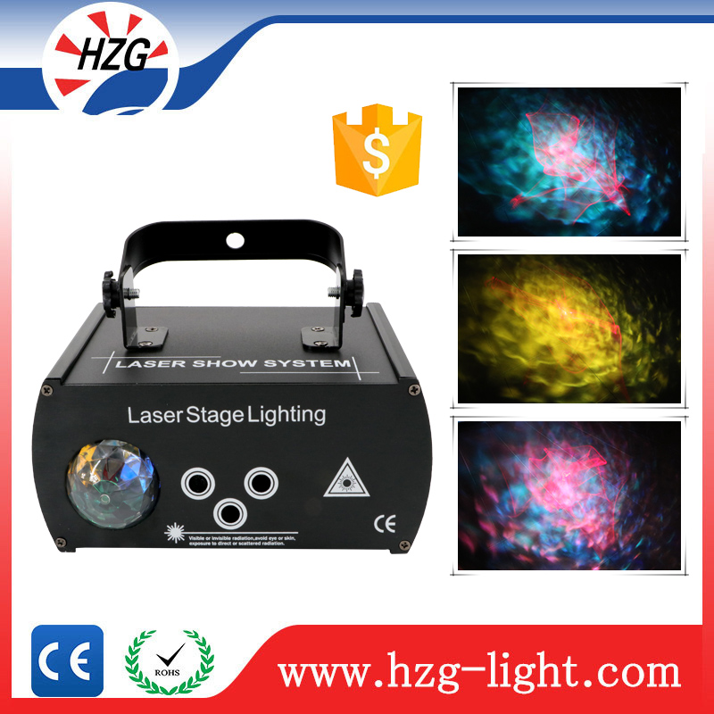 Project Night Club Led Disco LED Water Wave Effect Feature Light 3 holes RGB led ocean wave projector light