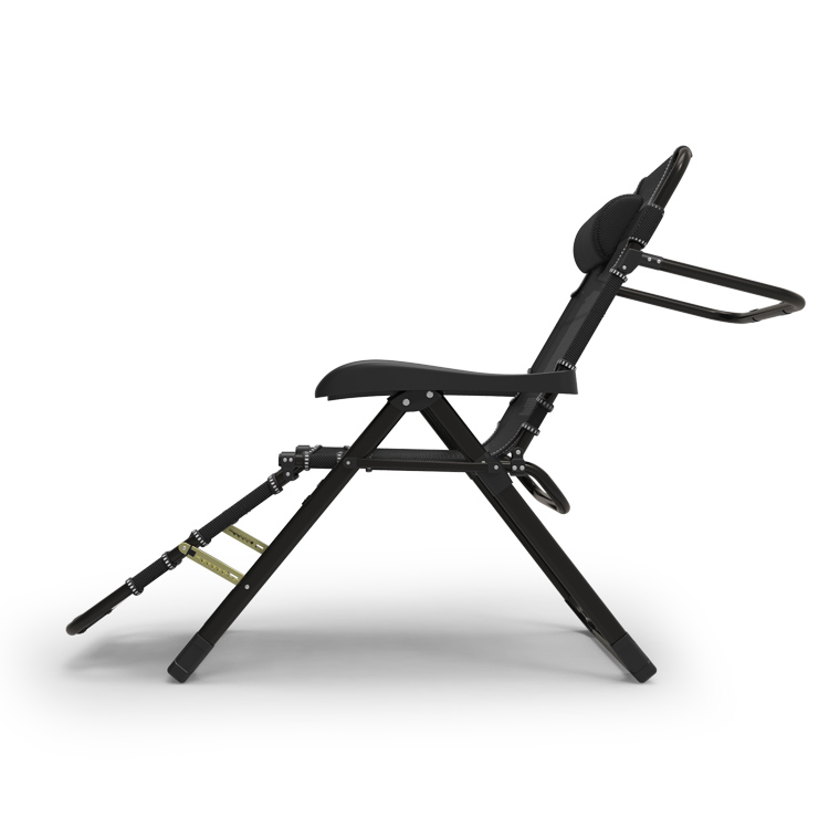 Teslin Fabric Folding Chair With 7 Gear Adjust Camping Chair Leisure Ways Outdoor Chair