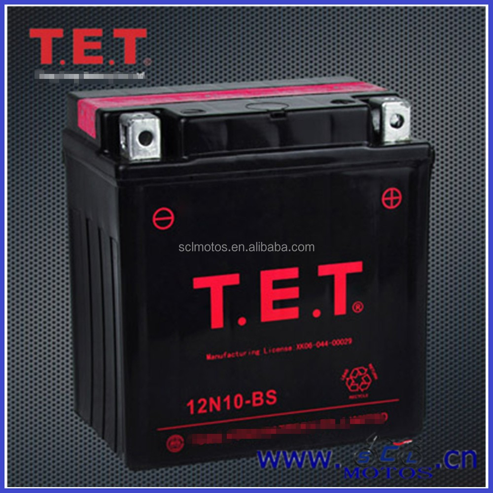 12N10-BS SCL-2013072124 Wholesale Rechargeable Lead Acid Battery 12V 10Ah