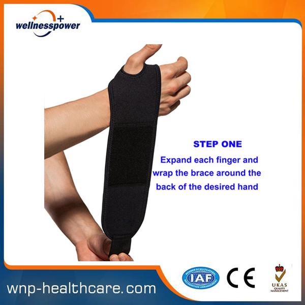 Best selling mueller wrist support with CE&ISO