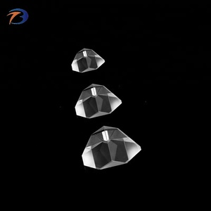 Quality large optical quartz crystal surveying amici roof prism