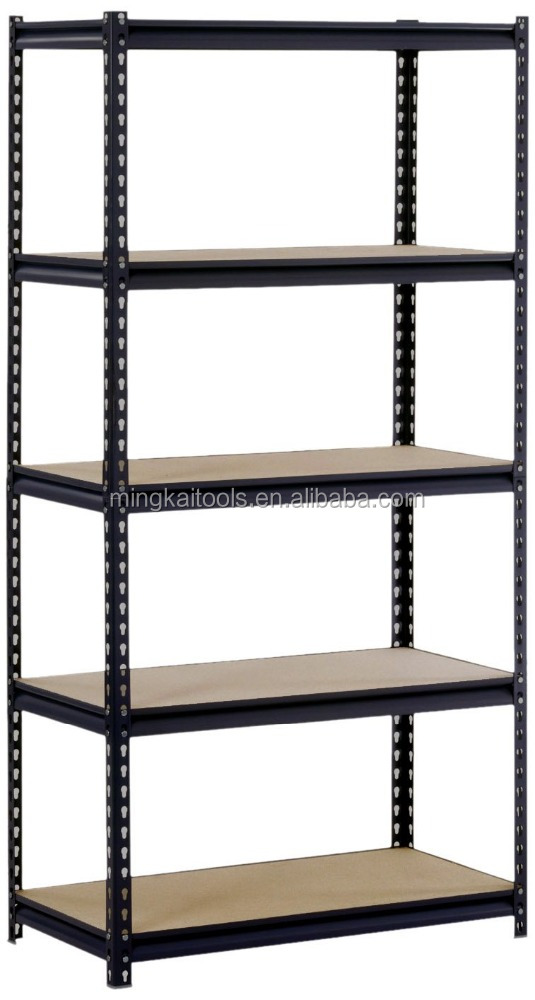 מדפי אחסון boltless Heavy duty 5 tier