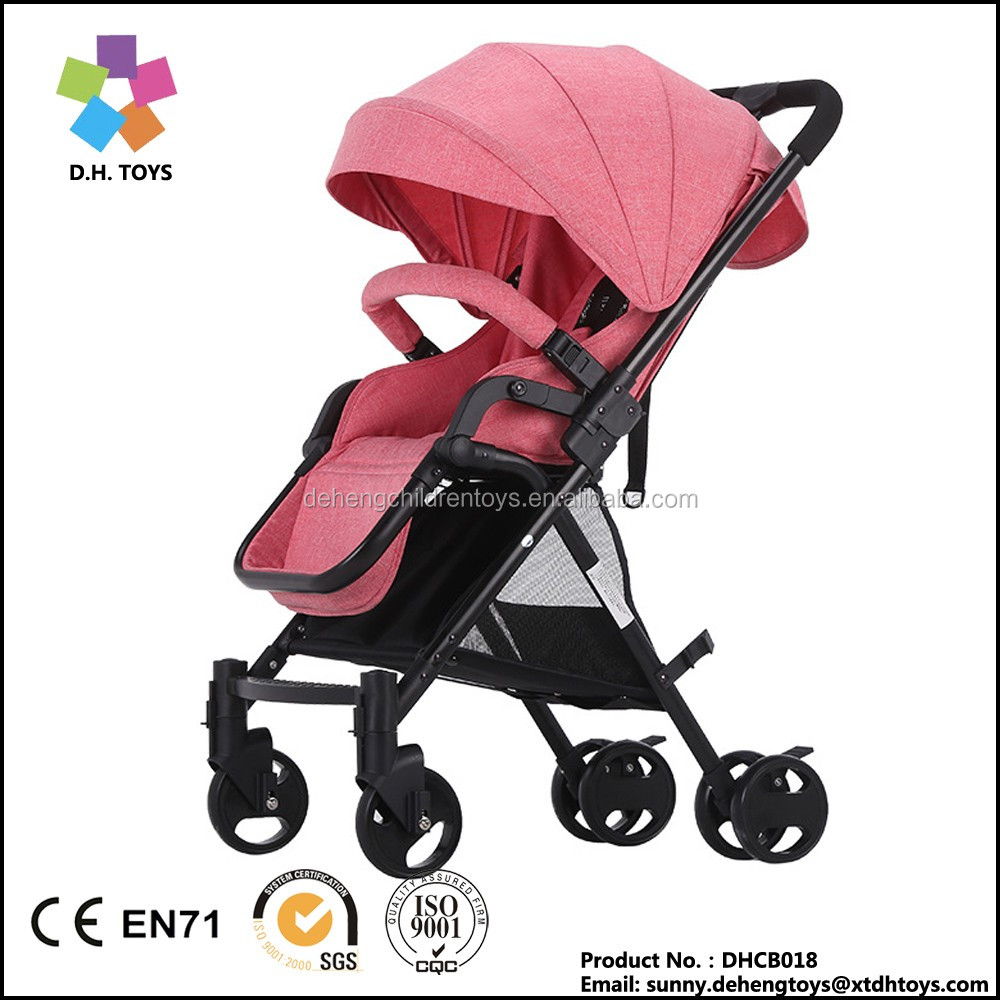 Wholesale buggies Pushchair stroller umbrella cart suspension two-way Baby stroller