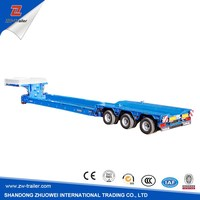 High Quality Low Bed Semi Trailer For Sale