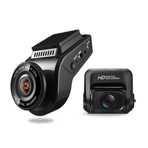 CLD T691C 1080P Dual Camera Dash Cam Front and Rear, 4K Car Camera Recorder GPS WIFI in Car Black Box