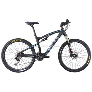 ICANBikes Carbon Complete bike AC156 27.5er Mountain Bike Full Suspension MTB Bike