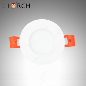 Low Power Consumption 3W Mini Recessed Round Led Panel Light