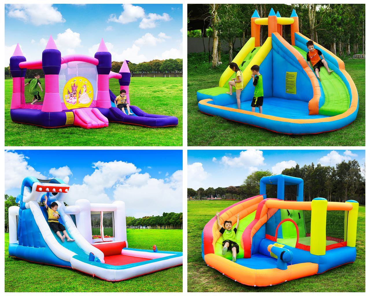 S075B ISO Certificate NewDesign Customized Available PVC Tarpaulin Home Water Slide Wholesale from China