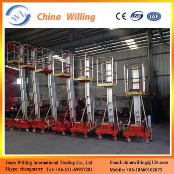 6m Aluminum Alloy Lifter / Hydraulic Automatic Ladder Lift - Buy ...
