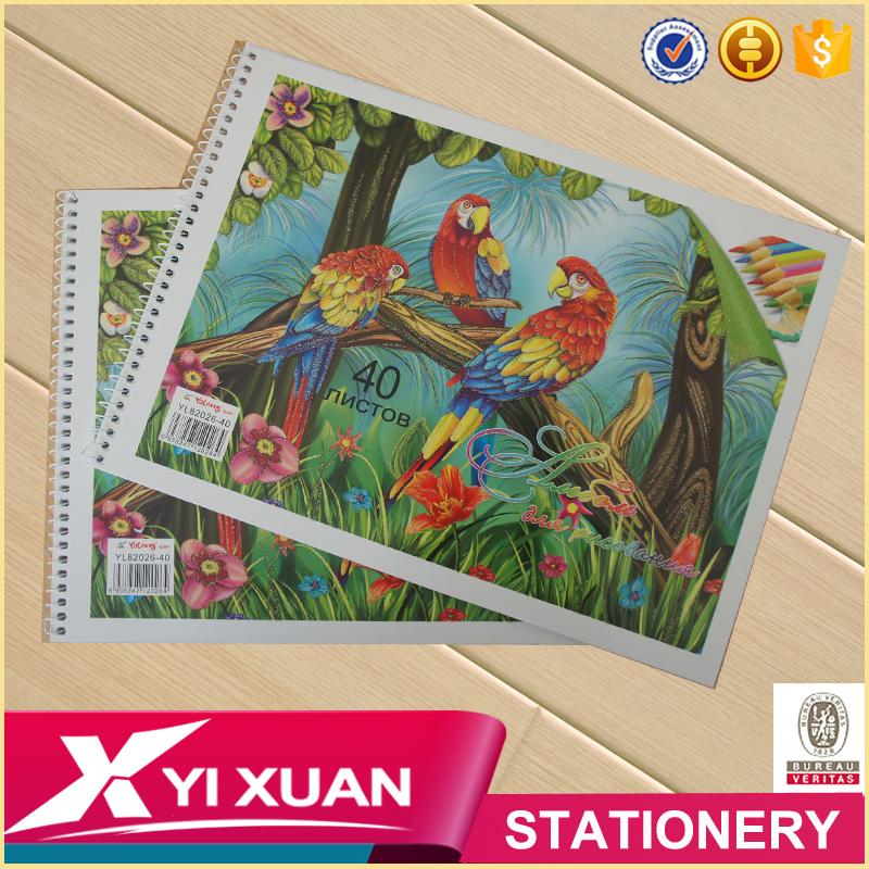 Fournitures scolaires en gros promotion dessin personnalis portable sketchbook pour enfant - Bureau en gros fourniture scolaire ...