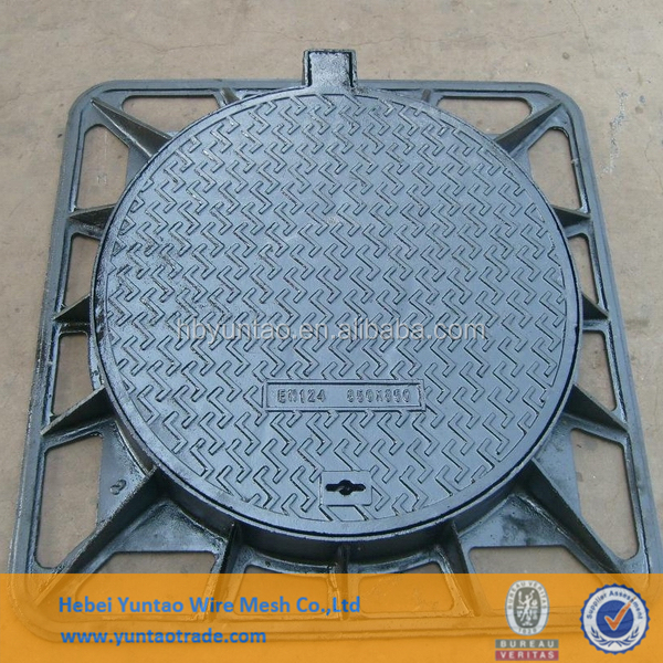 Cast Iron Gully Drain Manhole Grating