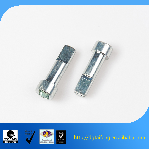 Customized Slotted Cup Head Metal Pin Connectors