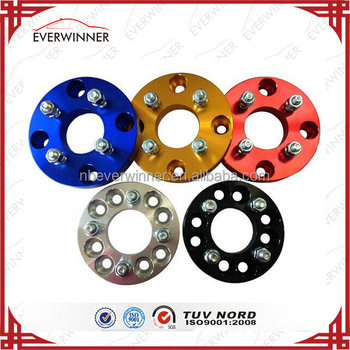 Colored Universal Wheel Hub Flange Billet Wheel Adapter