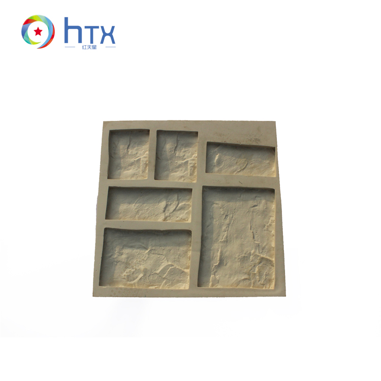 2017 Luxury Decorative Paving Artificial Veneer Stone Mold for Interior Wall