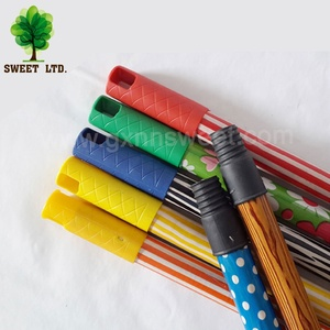 machine making plastic coco pvc coated metal wood Broom stick wooden for broom