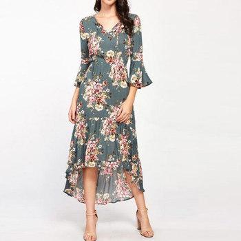 b7c8cd952a8 Servicios de OEM vestidos de señora de las mujeres profesionales de  tendencia de moda mujer último