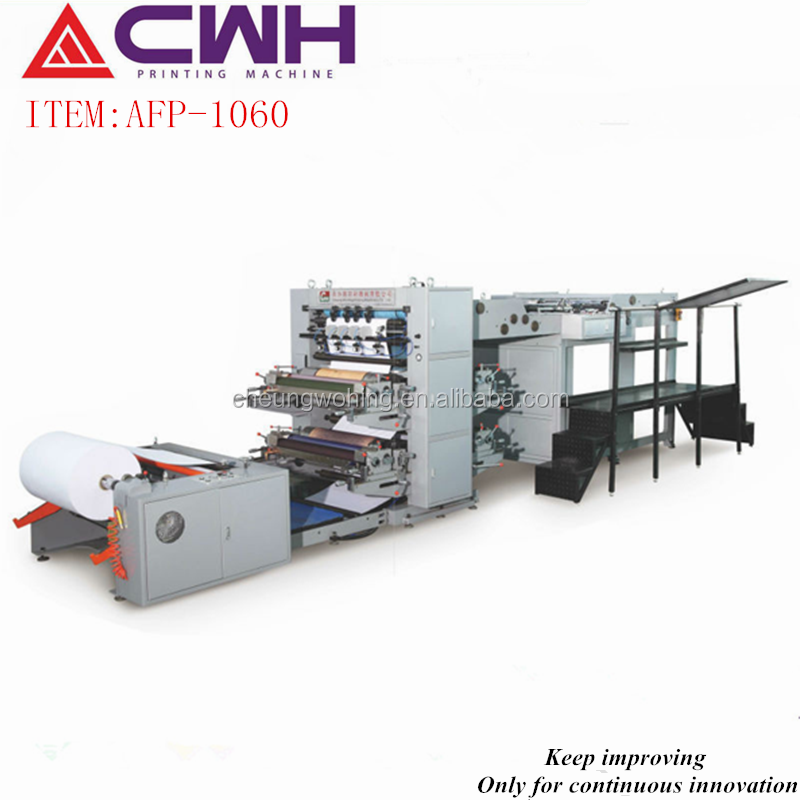 High demand products printing book auto flexo printing machine