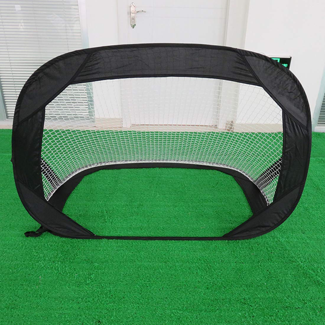 Beneyond Portable Soccer Net Goal,Pop Up Soccer Goal for Kids,Foldable Soccer Goal, Multi-Functional Beach,Outdoor Children's Sports Soccer Goal,120x85x85cm